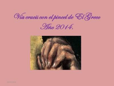 VIA CRUCIS  - GRECO